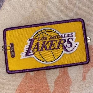 Lakers Luggage Tag